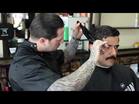 Shave and A Haircut: Razorbacks Barber Shop | The Art of Manliness