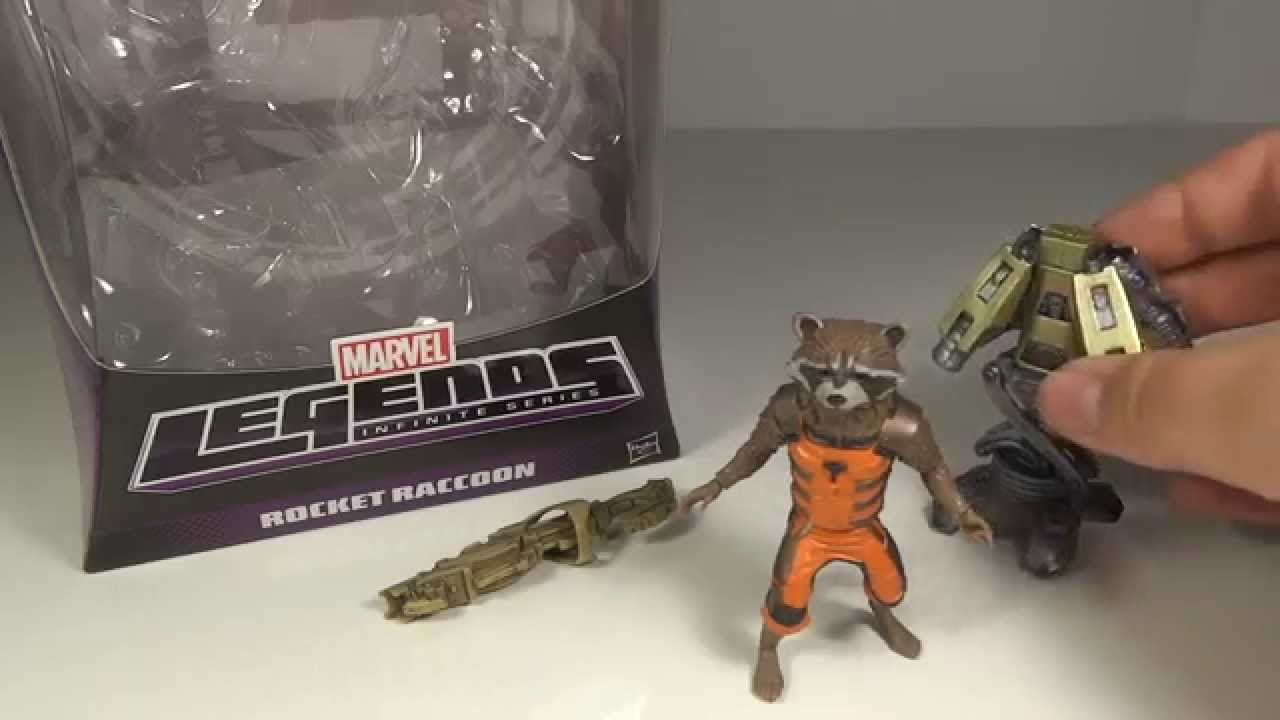 Guardians of the Galaxy Groot Marvel Legends Infinite Series ROCKET RACCOON