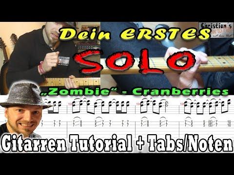 ★Dein erstes E Gitarren Solo: !EINFACH und für Anfänger!