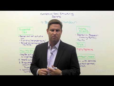 Commercial Deal Structuring 09: The Bankruptcy Cram Down