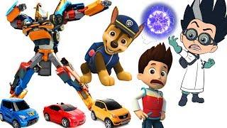 Щенячий Патруль новые серии Мультики ТОБОТЫ Трансформеры Игрушки Paw Patrol для детей Герои в Масках