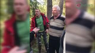 47news: начало конфликта в Вырице с участием прокурора Михаила Волницкого