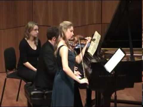 Ravel - Violin Sonata No 2 - Allegretto (1 of 3)