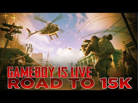 🔴PUBG MOBILE :0.15.0-- BIRTHDAY BOY IS HERE😃--GAMEBOY YT--💲DONATIONS ON SCREEN. - 동영상