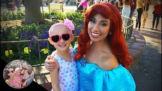 Ariel played hide & seek with Malia! (TOO CUTE) | Disneyland vlog #88