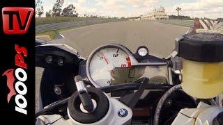 BMW S 1000 RR 2015 | 0-260km/h | Launch Control Start