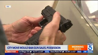 Carson Considers Ban on Gun Sales, Possession
