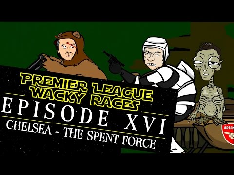 STAR WARS FOOTBALL WACKY RACES - Episode 16! (Leicester 2-1 Chelsea BATTLEFRONT PARODY)