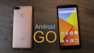 Itel A45 Unboxing and first impression, Android Go Edition, Price Rs. 5,999