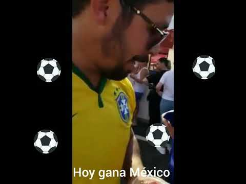 Hoy gana México VS Brasil