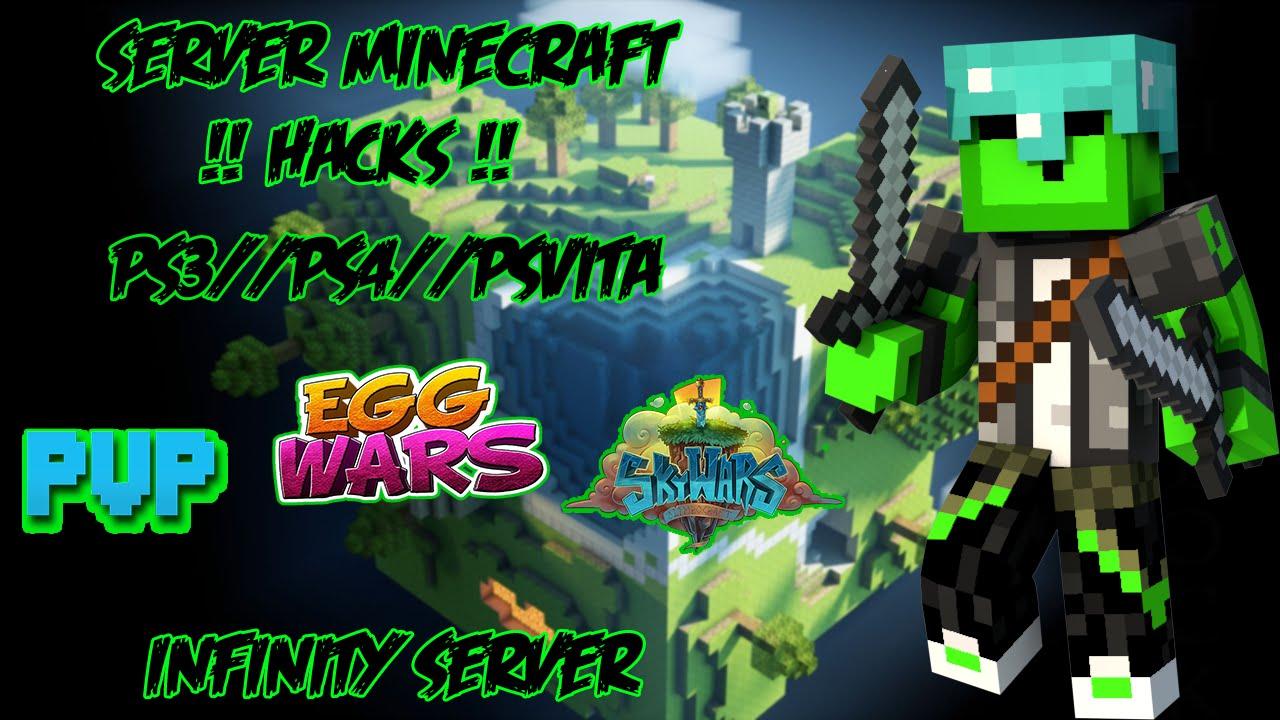 SERVER EPICO//HACKS MINECRAFT PS3//PS4//PSVITA// EggWars ...