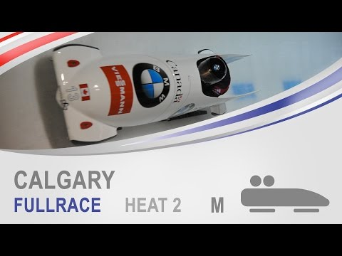 Calgary | 2-Man Bobsleigh Heat 2 World Cup Tour 2014/2015 | FIBT Official