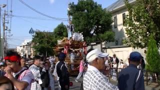 2013/10/13 御厨・長田東・横沼 3町地車合わせ No.1