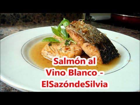 salsa blanca para salmon al horno