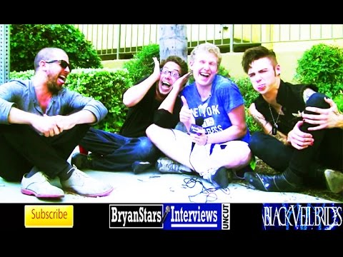 Black Veil Brides Interview #7 Andy Biersack Featuring Joe Flanders & Patrick Fogarty UNCUT 2014