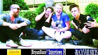 Black Veil Brides Interview #7 Andy Biersack Featuring Joe Flanders & Patrick Fogarty UNCUT 2014