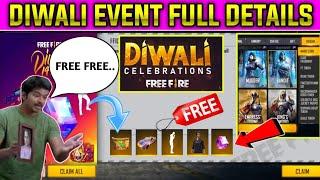 free fire diwali event full details in Tamil/ free magic cube / best  magic cube bundle in free fire