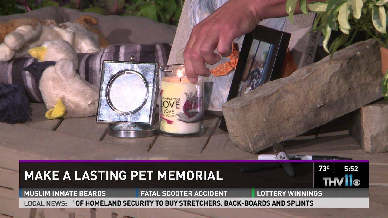 Preferred Make a lasting pet memorial - YouTube UL03