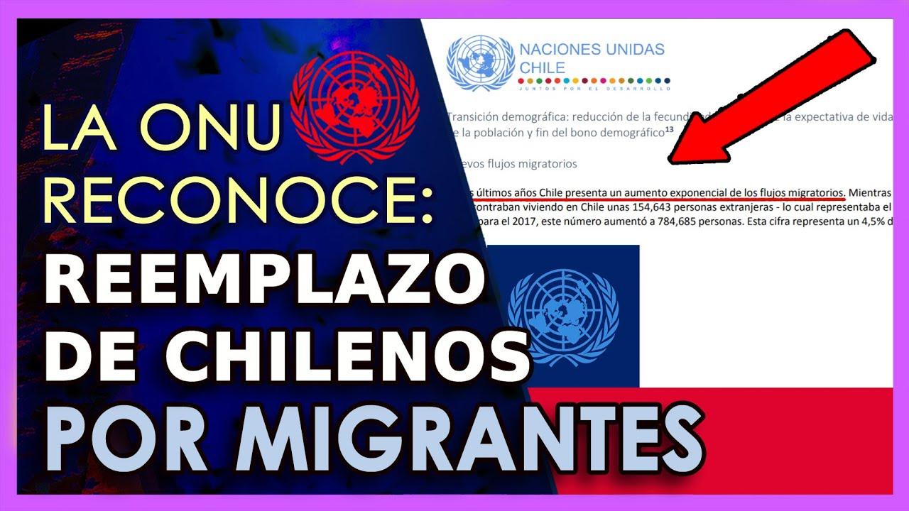 Informe ONU revela reemplazo de chilenos   Se prepara NC Global Extranjerizante