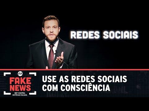 SBT Contra Notícias Falsas: use as redes sociais com consciência