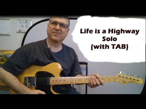 Life is a Highway by Rascal Flatts Guitar Lesson (with TAB)