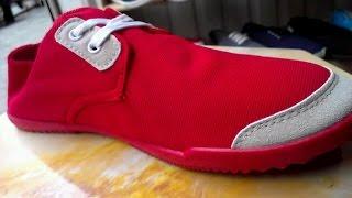 Обзор обуви! Мокасины  красного цвета НОВИНКА