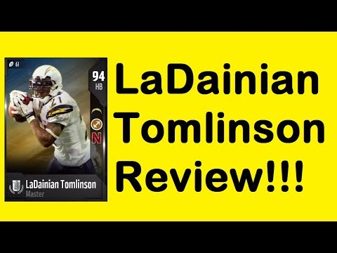 HOW GOOD IS 94 OVERALL LADAINIAN TOMLINSON? Madden 18 Ultimate Team Card Review