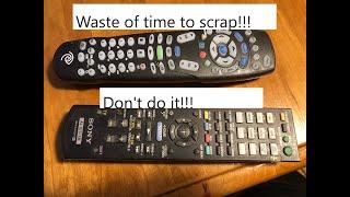 Scrapping Remote Controls -Moose Scrapper