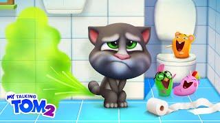 Bathroom Buddy - My Talking Tom 2 - Official Trailer #3