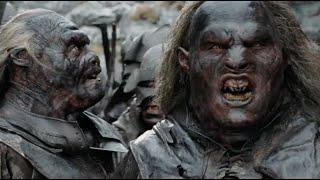 ✄ Властелин колец: Две крепости 2002 (Арагорн, Гимли и Леголас преследуют отряд урукхаев)