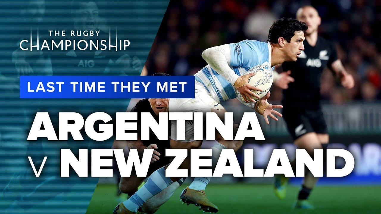 Argentina Vs New Zealand Last Time