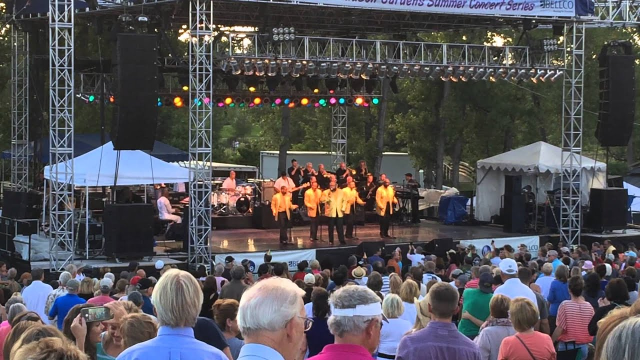 The Temptations Live At Hudson Gardens Littleton Co 07 19 15