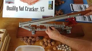 Quality Nutcracker V5. Nut cracker Components and Ways to crack black walnut, hickory, butternut...