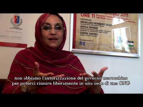Aminatou Haidar Sub ITA