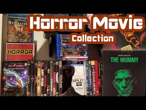 Horror Movie Collection! DVD's and Blu-Ray - Spooktacular 2017