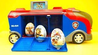 Щенячий Патруль сюрпризы и игрушки. Видео для детей