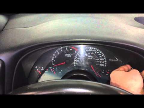 Camaro Speedometer Fix.
