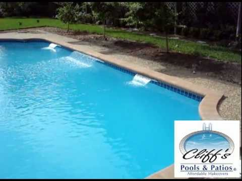 Swimming pool water features extreme rain arc 3 of 3 youtube - Arc swimming pool ...