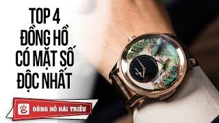 Top 4 chiếc đồng hồ ĐẸP nhất thế giới ! Cả một nữ vũ công Ba Lê múa trên mặt đồng hồ