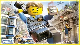 Мультфильм игра Лего Сити 3 серия - Побег с Тюрьмы LEGO City смотреть онлайн все серии на русском
