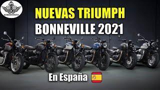 LAS CLÁSICAS INGLESAS - Triumph Bonneville 2021
