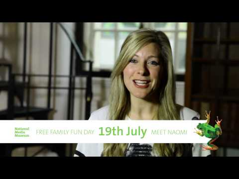 Naomi Wilkinson invites you to the National Media Museum
