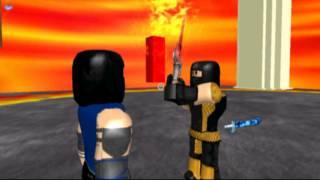 ROBLOX Mortal Kombat: Skorpion vs SubZero *NIE FERTIG*