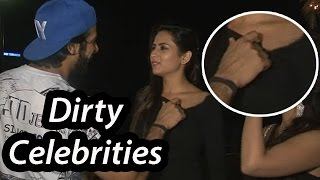 Karan Mehra Goes Dirty With Sargun Mehta @ Adaa Khan Birthday Party
