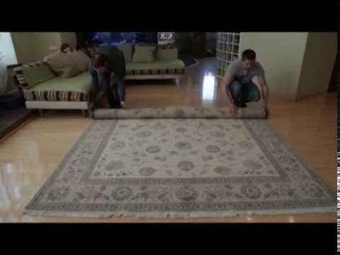 примерка ковров. услуга салона ковры де люкс