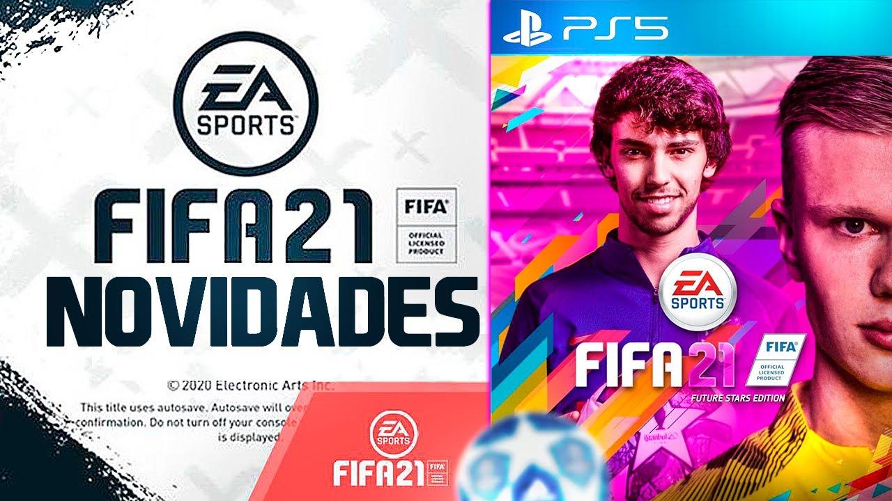 EA SPORTS REVELA AS PRIMEIRAS NOVIDADES FIFA 21 ✔️? || LINKER ||