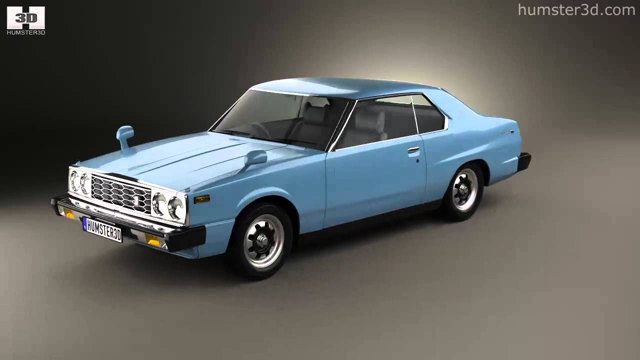 Nissan Skyline  C210  Gt Coupe 1977 By 3d Model Store