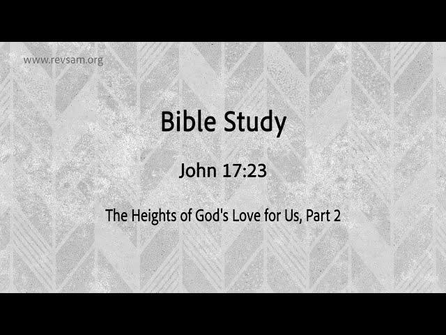 The Heights of God's Love for Us (Part-2)   Jeevan Chelladurai    தேவனுடைய அன்பின் சிகரம் (பகுதி 2)