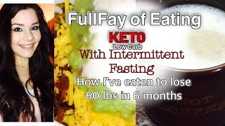 FULL DAY OF EATING | KETO | LOW CARB | Intermittent Fasting