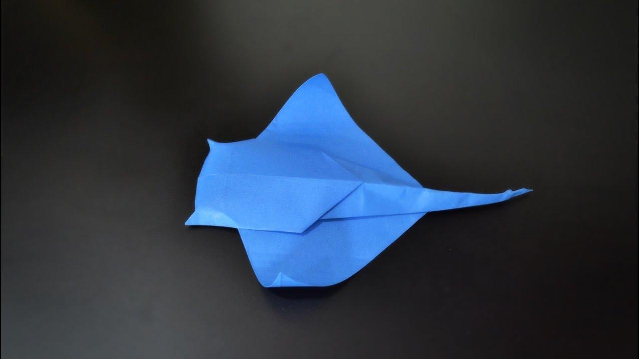 origami manta ray instructions in english br youtube rh youtube com